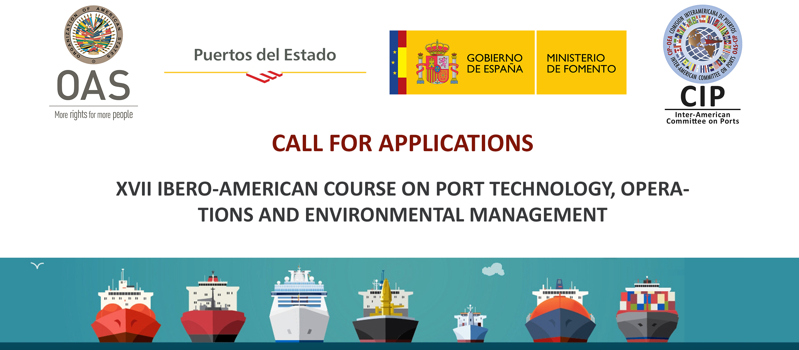 XVII Ibero-American Course on Technology, Operations and Environmental Management on Ports