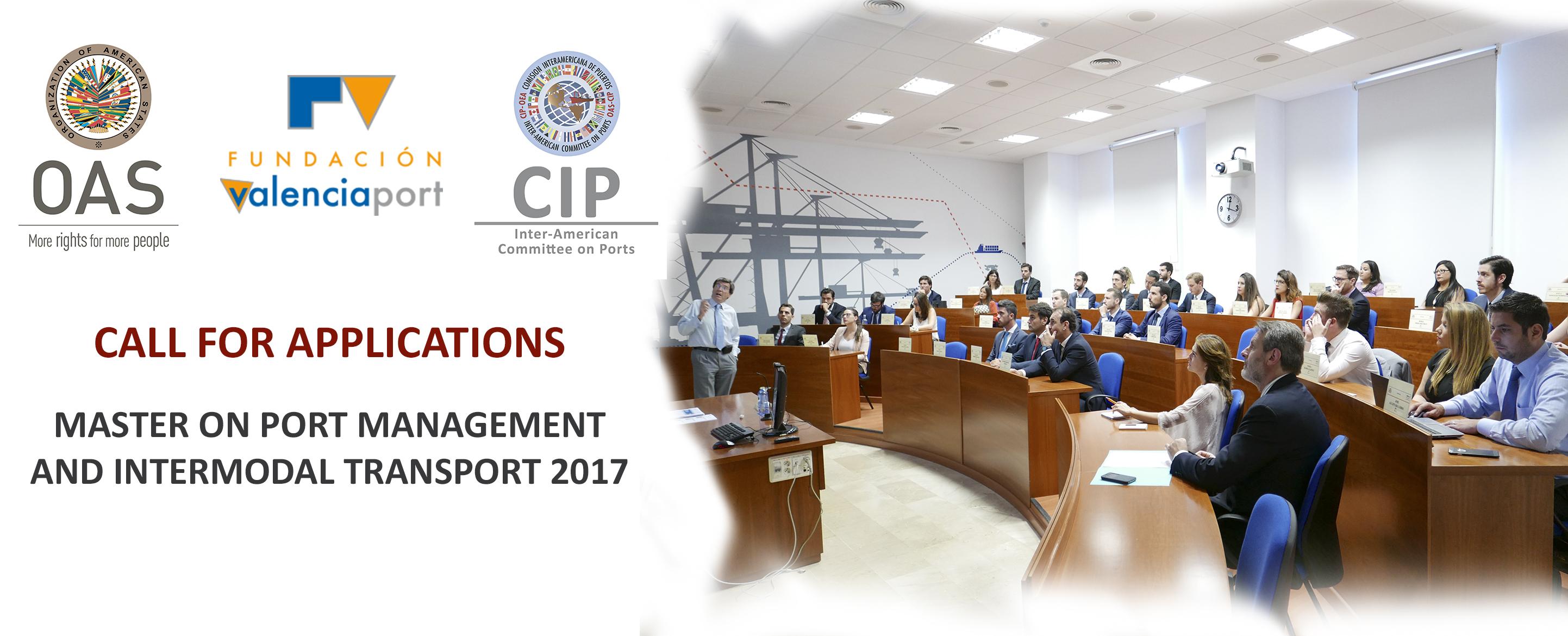 Master on Port Management and Intermodal Transport 2017