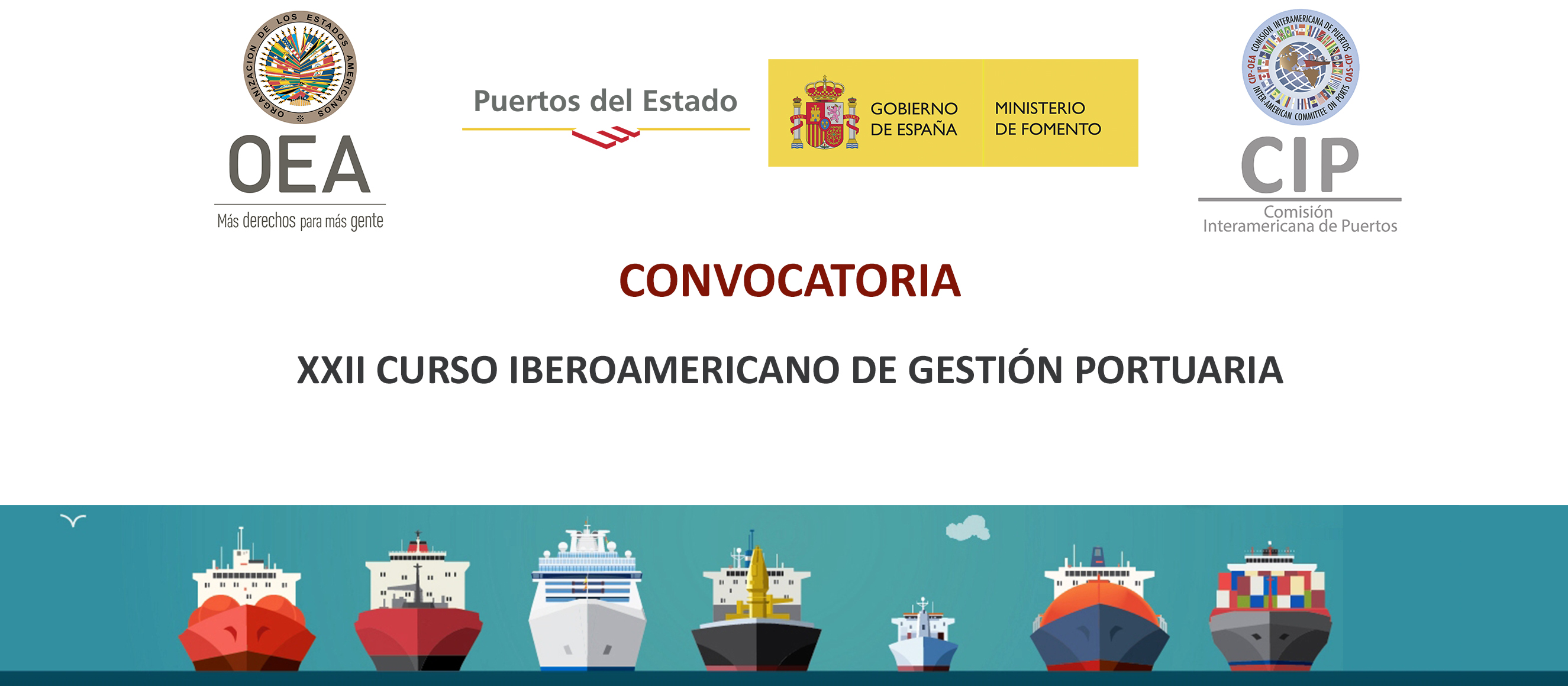 XXII Curso Iberoamericano de Gestión Portuaria