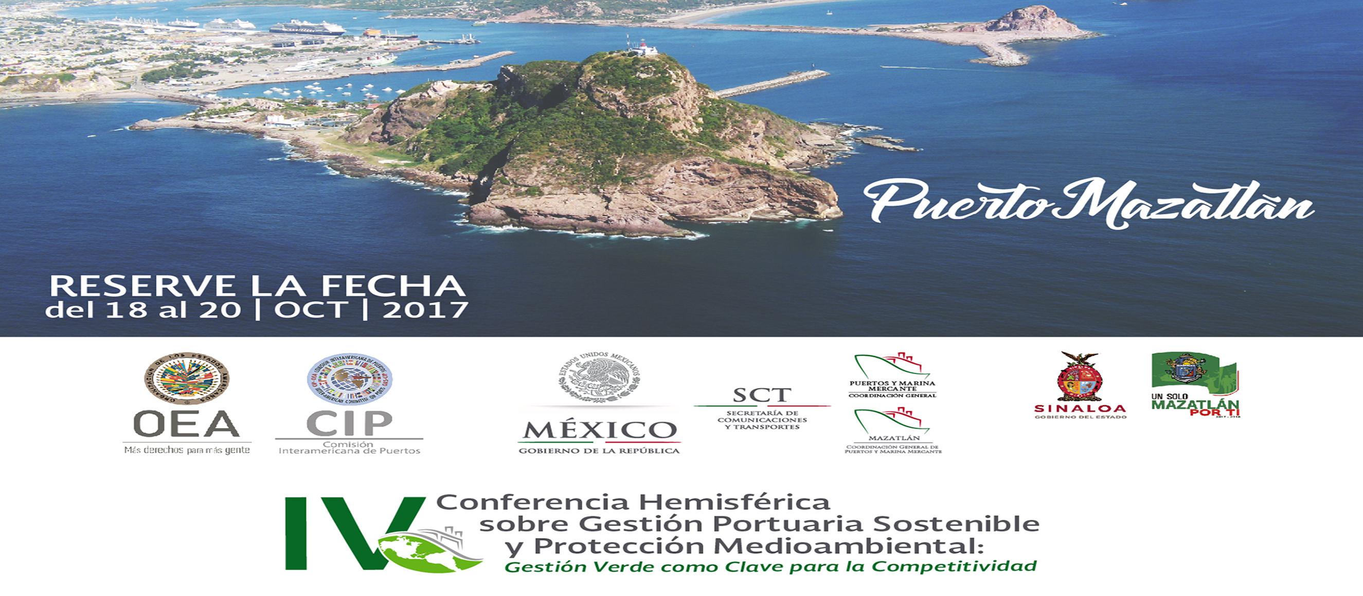 IV Conferencia Hemisférica sobre Gestión Portuaria Sostenible y Protección Medioambiental