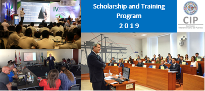 Capture banner scholarship and training 2019