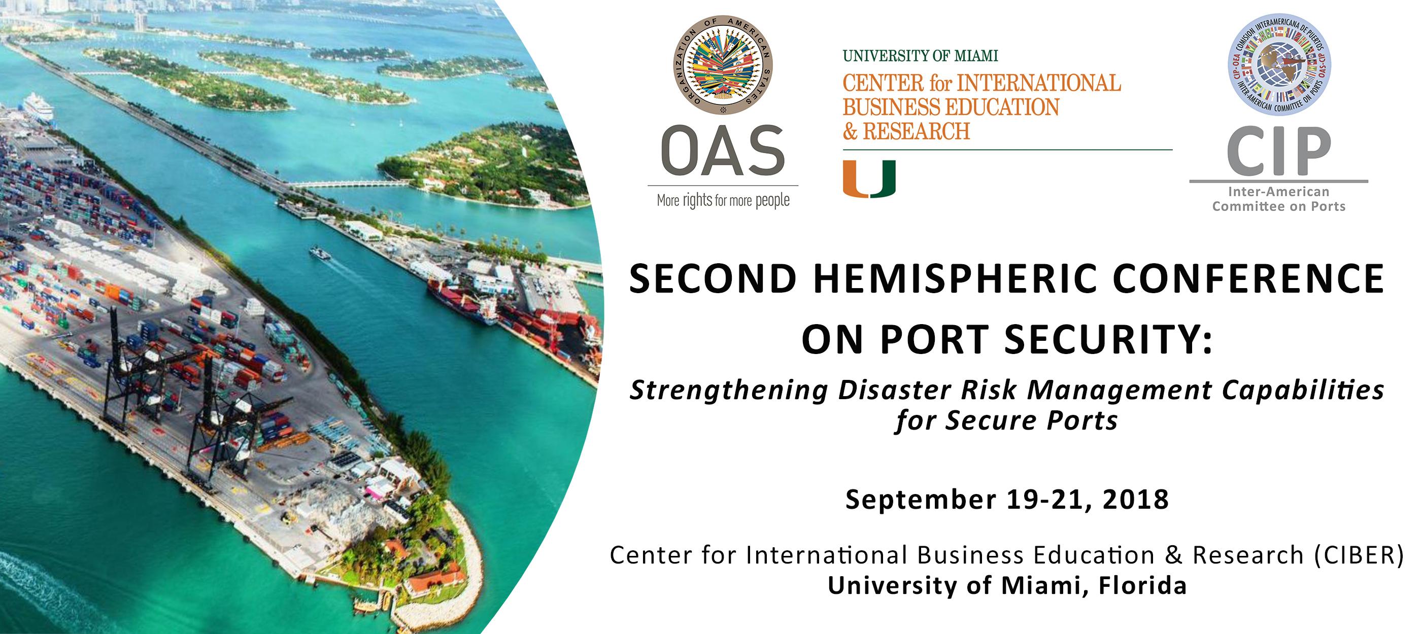 Second Hemispheric Conference on Port Security