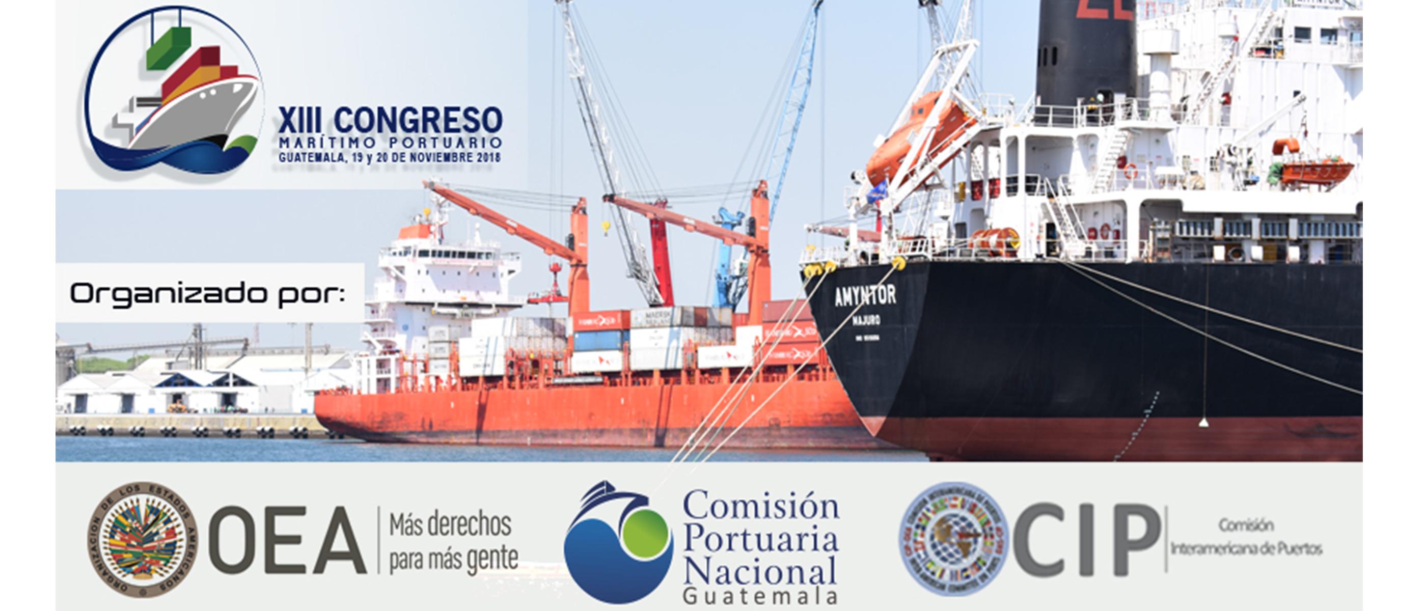 XIII Congreso Marítimo Portuario