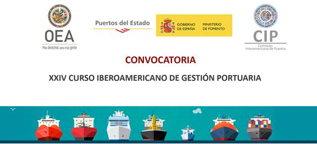 XXIV Curso Iberoamericano de Gestión Portuaria