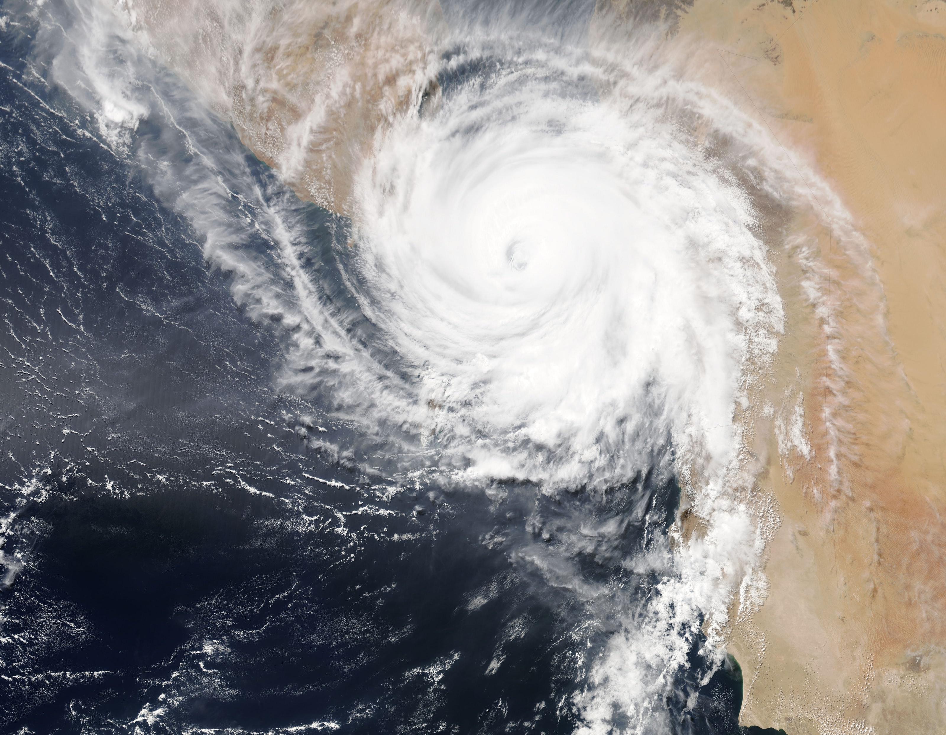 hurricane satellite view pt2