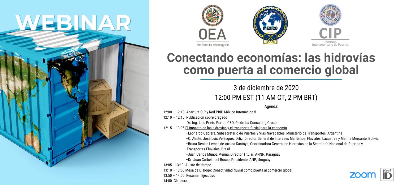 Banner Webinar Conectando economias rev