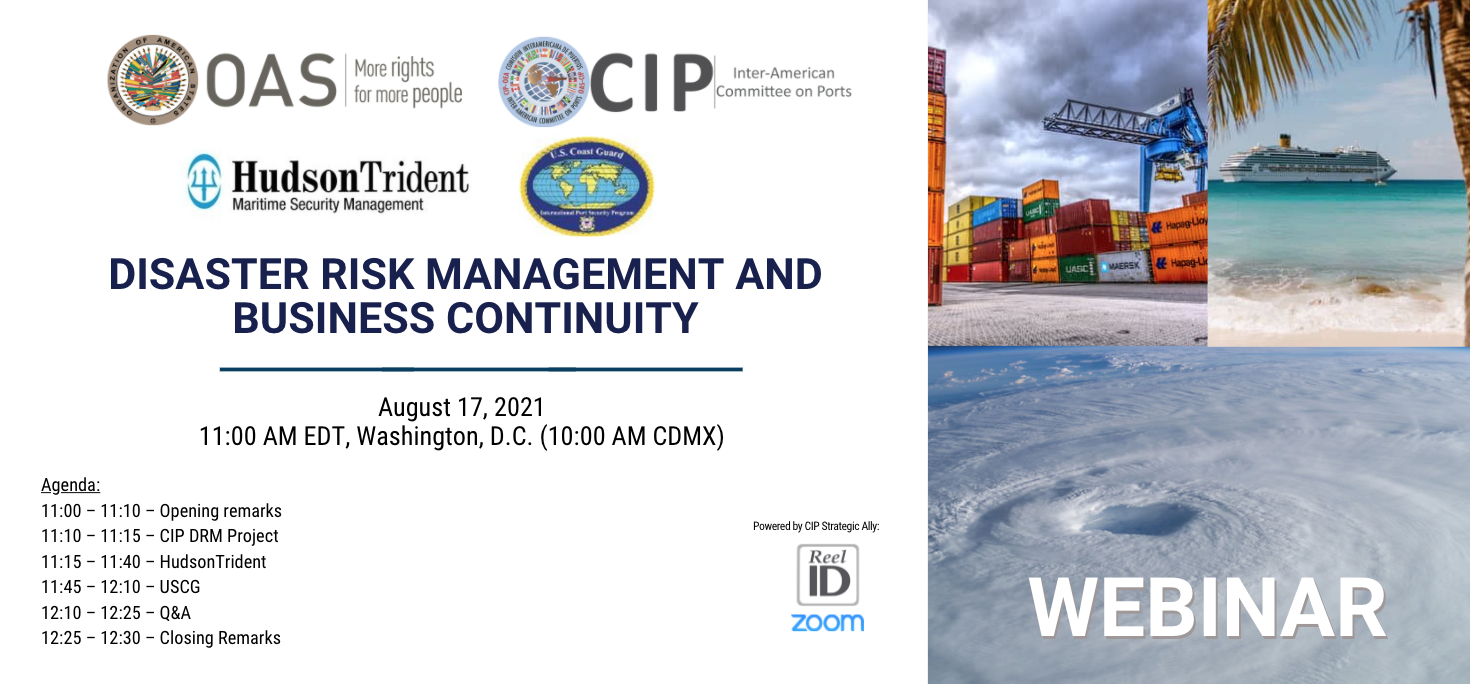 Banner Webinar DRM and Business Continuity